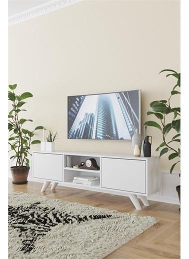 KZY Kzy Romeo Tv Sehpası - Beyaz Renkli
